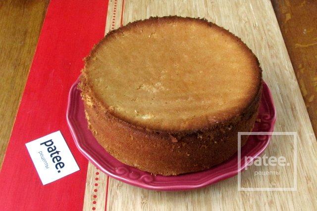 бисквит с крахмалом рецепт с фото