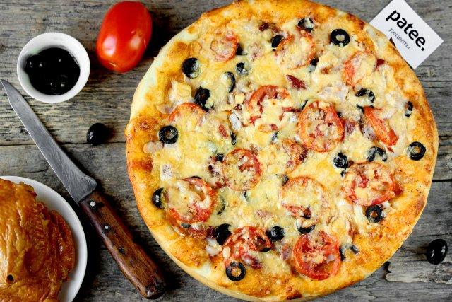 Пицца овощнаяы с фото