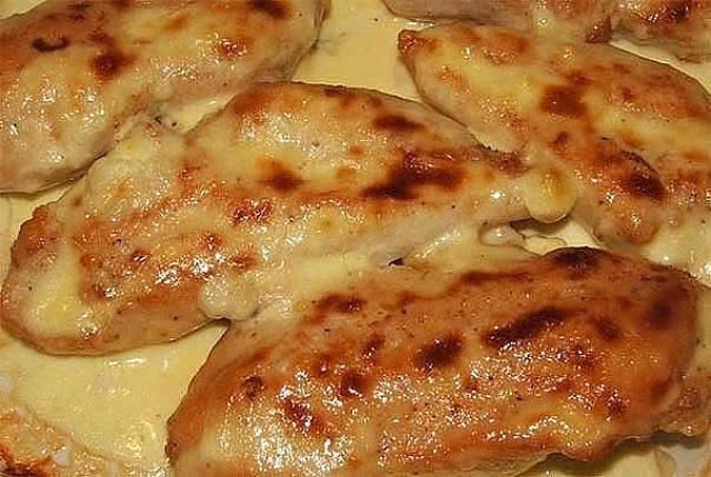 Куриная грудка в кефире в духовке рецепт с пошагово