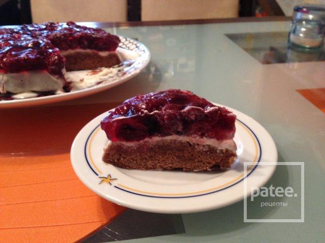 Пирог тирольский с вишней рецепт