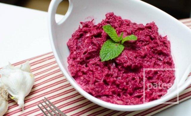 Рецепт салатов из свеклы