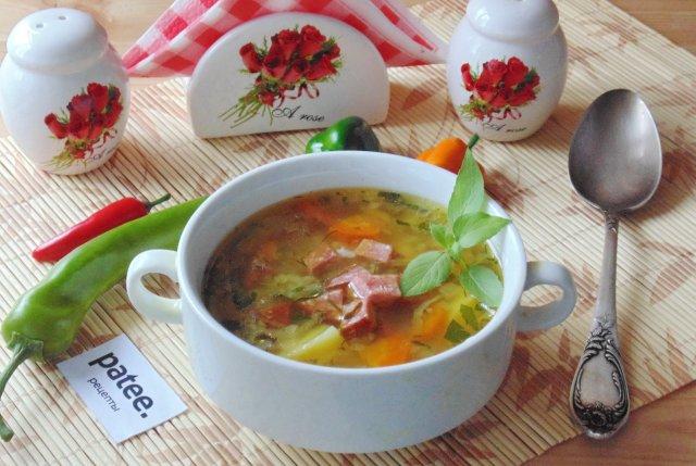 Какой сварить суп на обед рецепты с фото пошагово