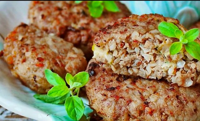 Куриные котлеты с гречкой рецепт с фото