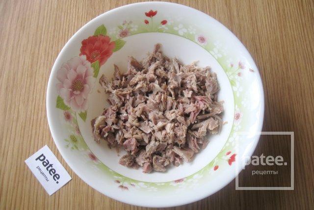 Салат с мясом рецепт пошаговый с