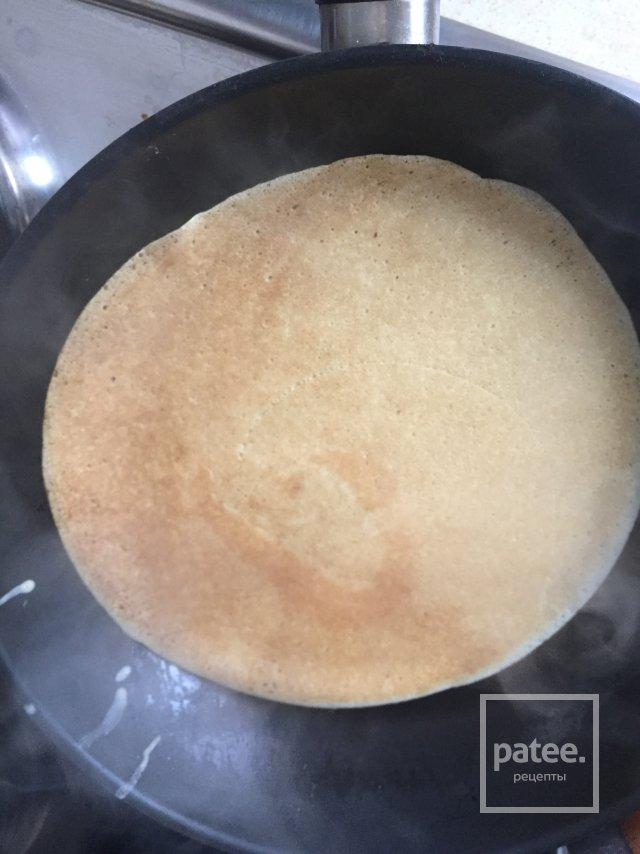 Блины на кипятке на молоке рецепт