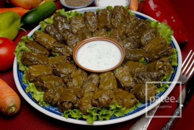 Узбекская долма рецепт