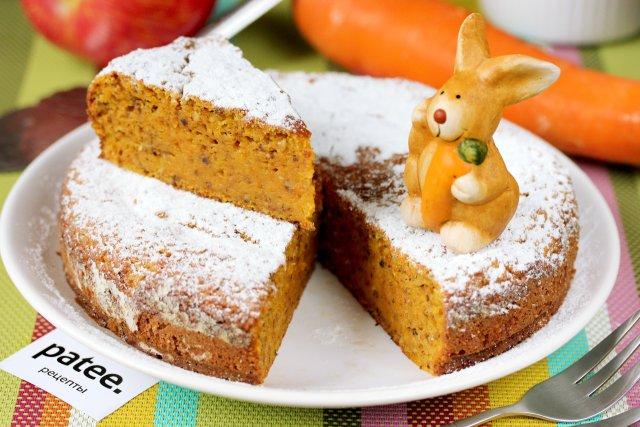 Морковный пирог рецепт в