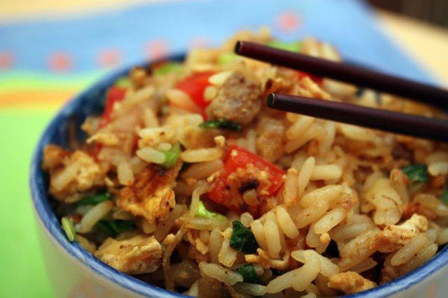 Рецепт рис со свининой