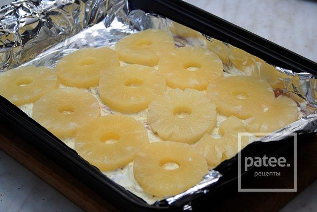 Индейка с ананасами