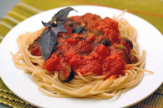 рецепт макарон по итальянски