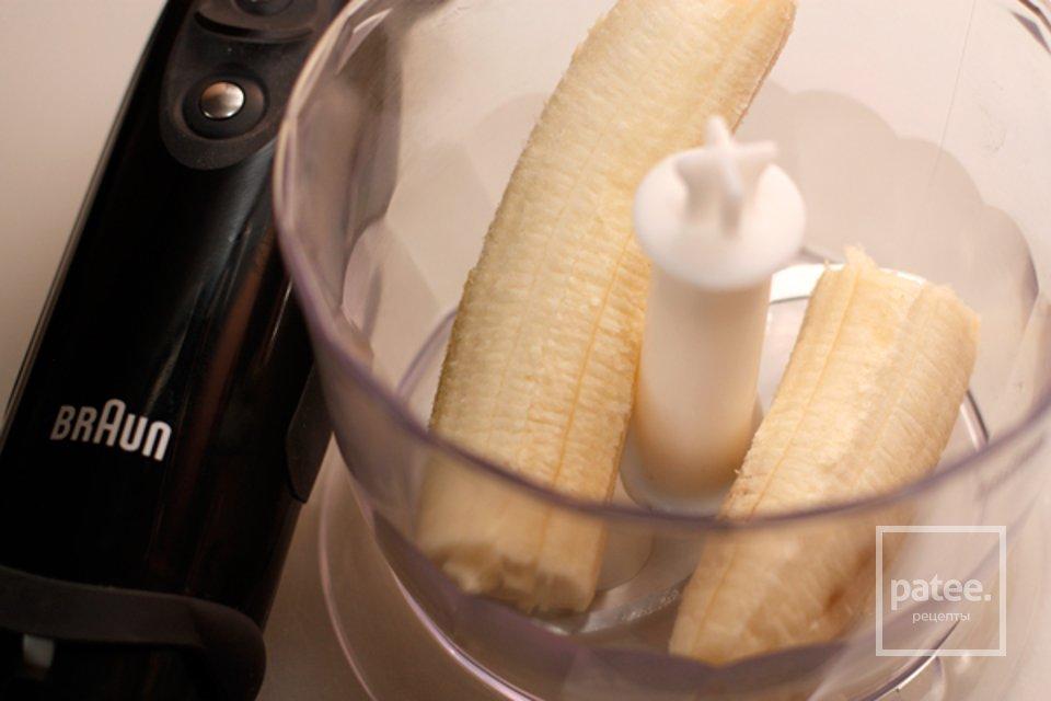 Горячий банановый коктейль, пошаговый рецепт с фото