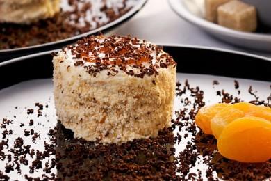 Рецепт Ароматное абрикосовое пирожное
