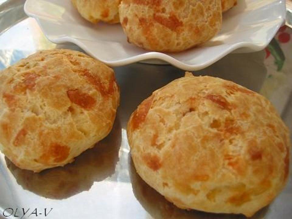 Заварные булочки с сыром