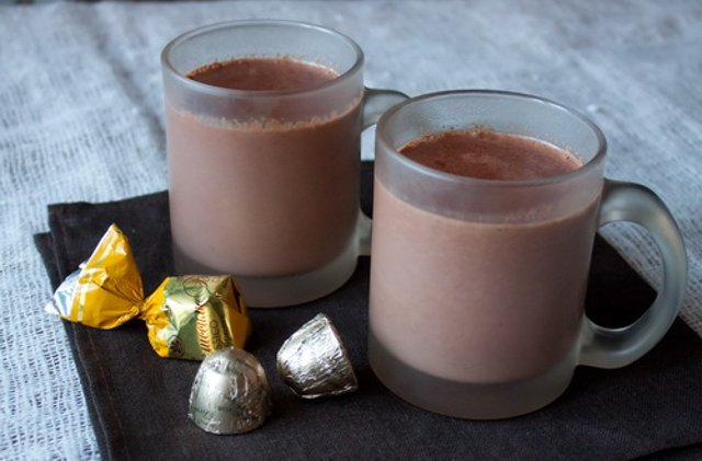 Оригинальный горячий шоколад