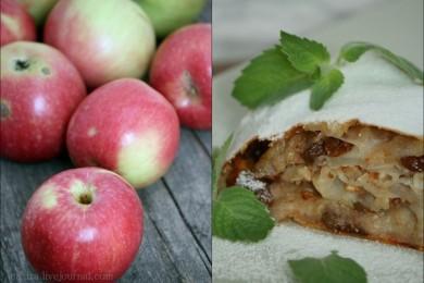 Рецепт Венский яблочный штрудель