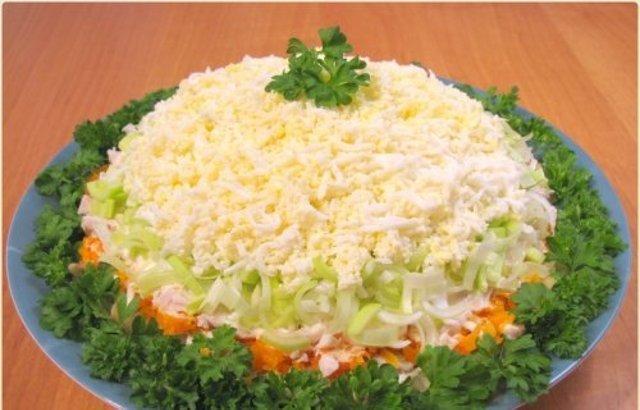 рецепты куриных салатиков фото
