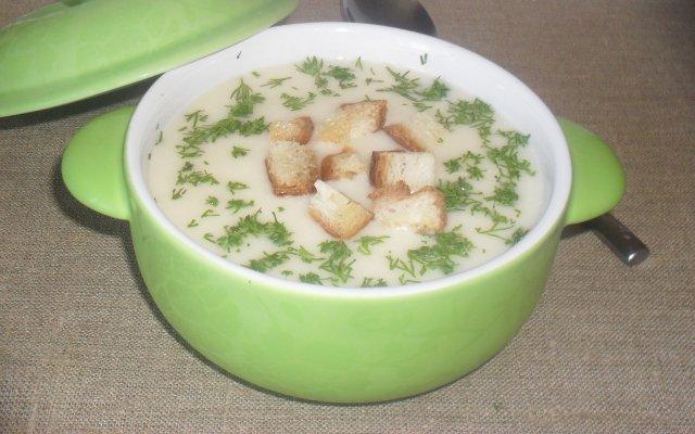 сырный суп-кремс курицей рецепт