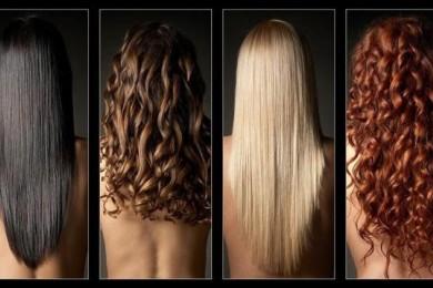 Волосы прямые или кудрявые