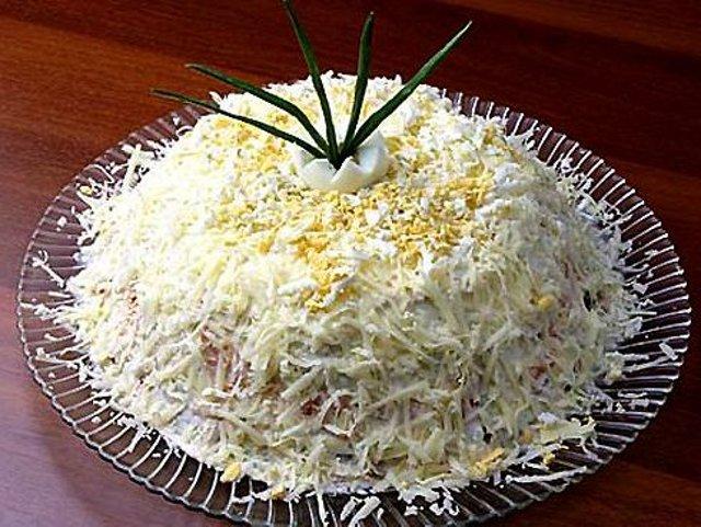 салат пикантный салат рецепт с фото