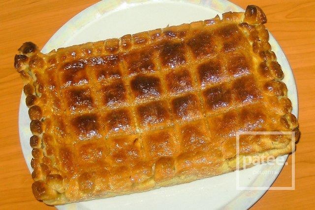 Открытый пирог с яйцом и сметаной рецепт 197
