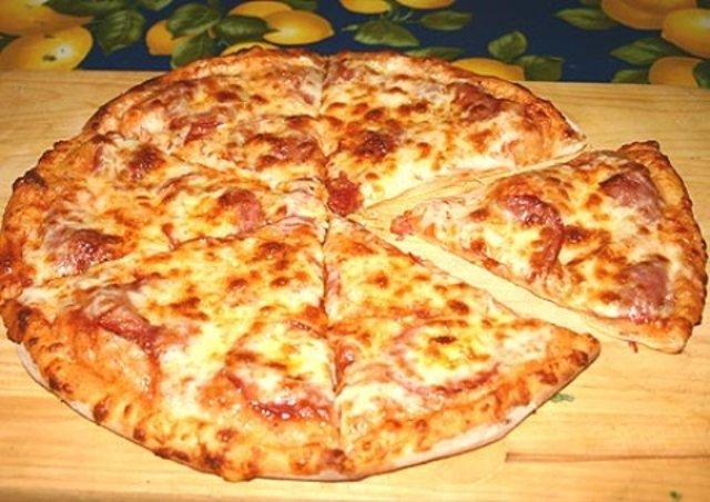 Пицца творожная (любимая)
