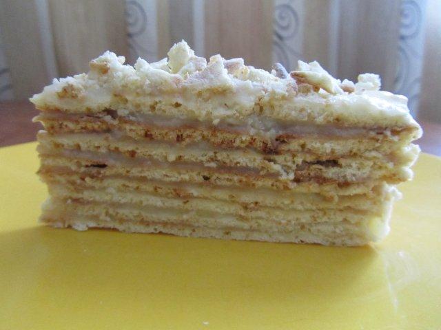рецепт торт волшебный