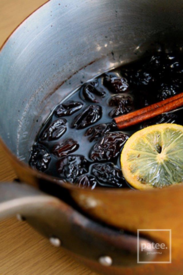 Чернослив с  кумкватом в сахарной глазури