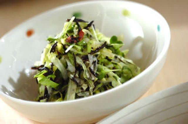 Салат с хидзики - рецепт с фотографиями