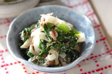 Рецепт Салат из репы с тунцом