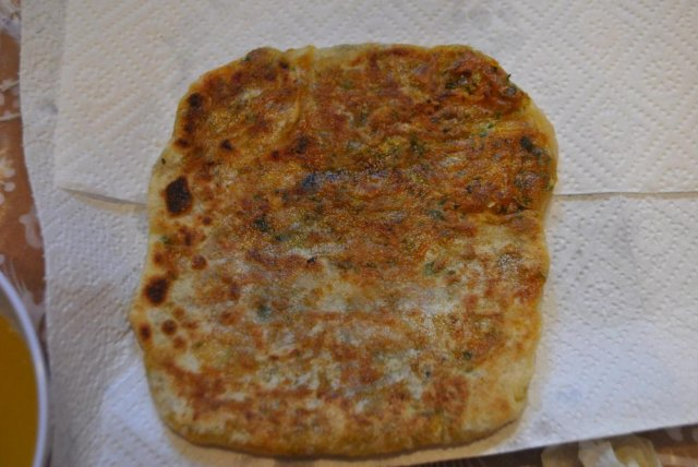 Марокканский жареный хлеб