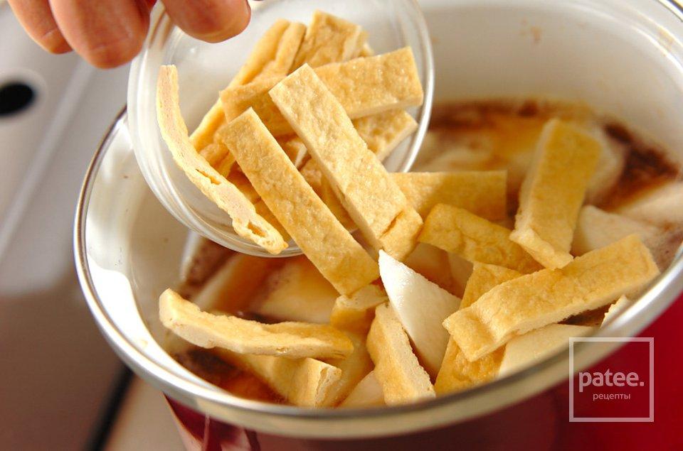 Отварной батат с тофу