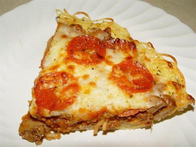 Спагетти Пицца