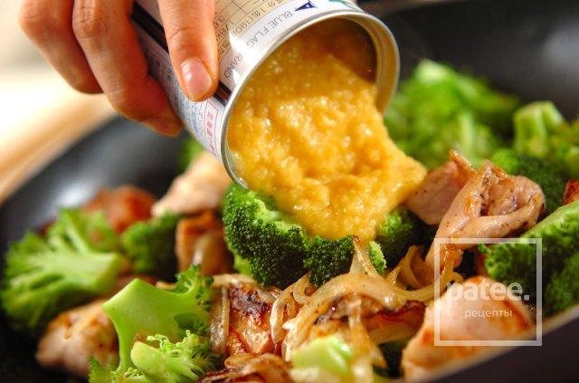 запеканка из брокколи в духовке с курицей рецепт