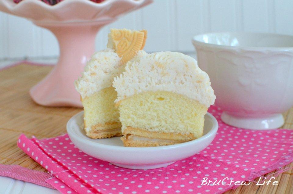 Ванильные кексы с бисквитами