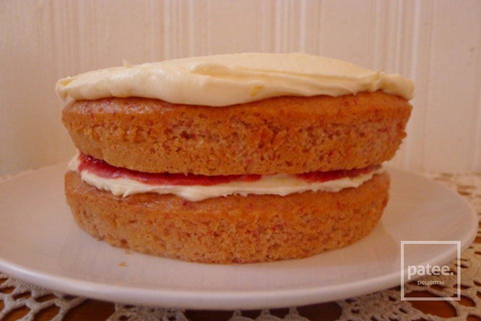 Клубничный торт со сливочным сыром