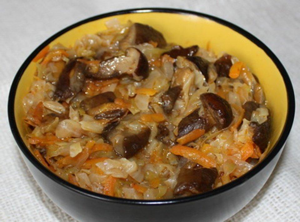 вкусная солянка с грибами