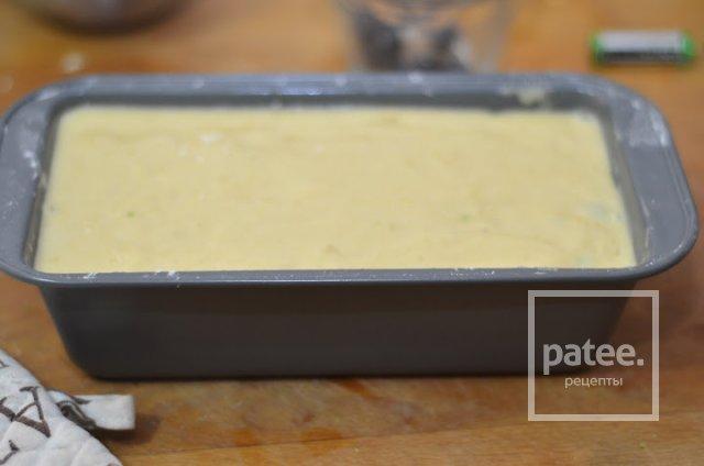 Творожный кекс с голубикой