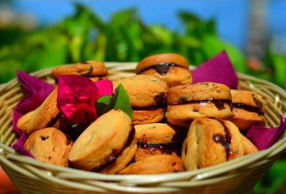 Печенье с корицей и шоколадными чипсами