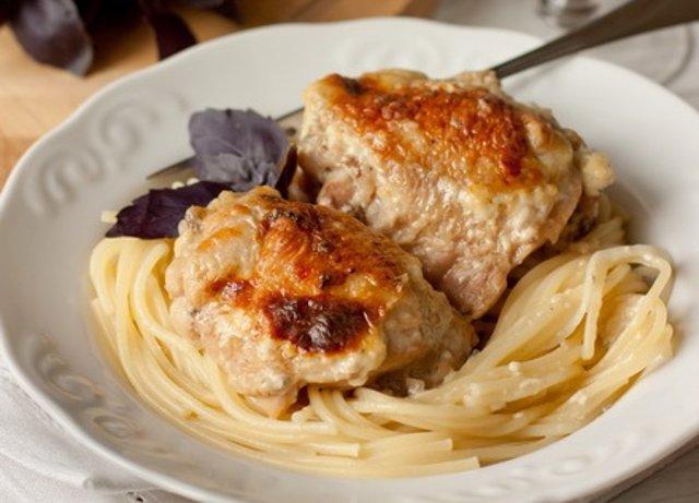 рецепты куриные бедра с фото