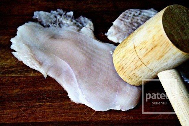 Куриная грудка с картофельным гарниром