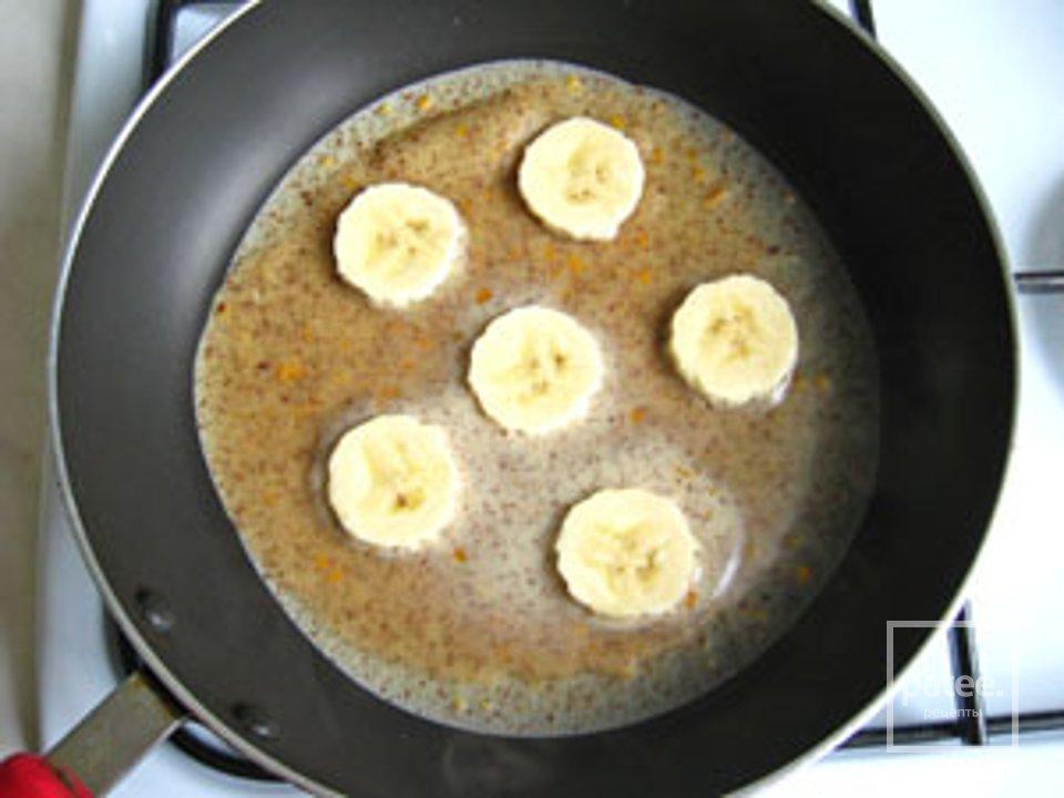 Шоколадно-банановые блины