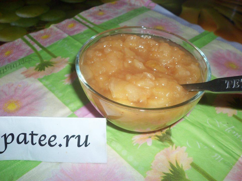 Варенье из груш и яблок