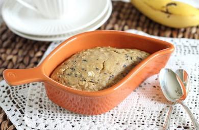 Рецепт Банановый пирог с шоколадной стружкой
