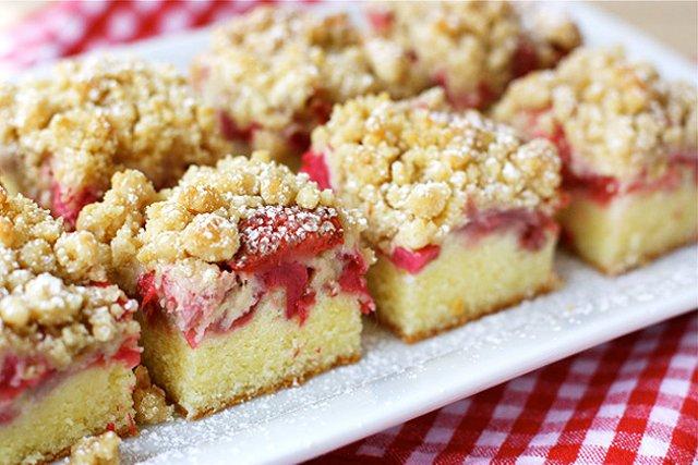Рецепт пирога с ревенем