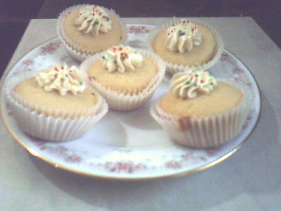 Домашние ванильные кексы