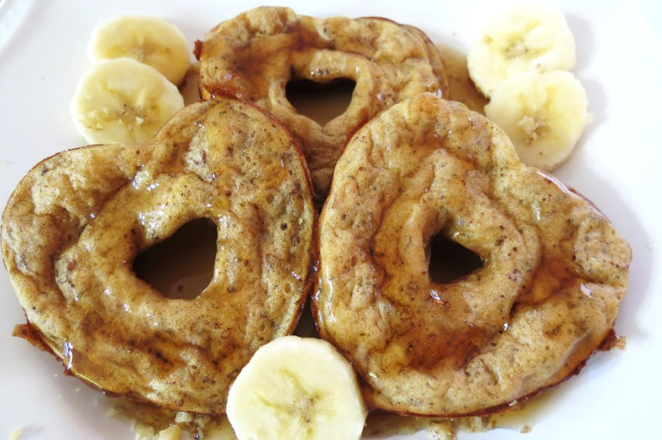 Печеные банановые блинчики