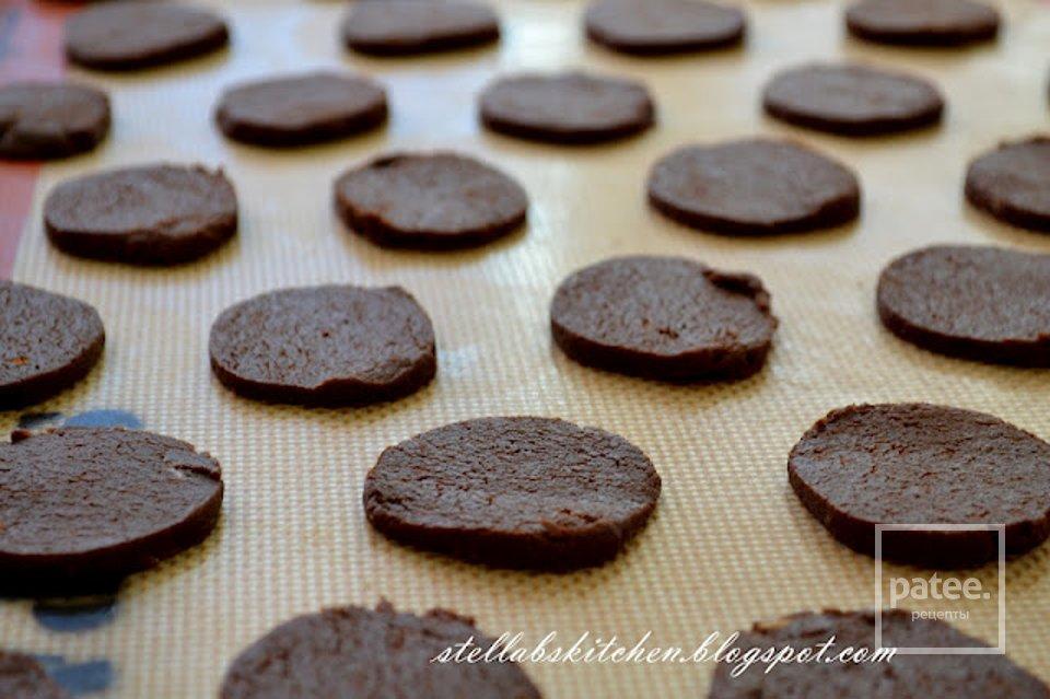 Мятное шоколадное печенье – кулинарный рецепт