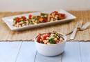 Салат с жареных помидоров да белой фасоли