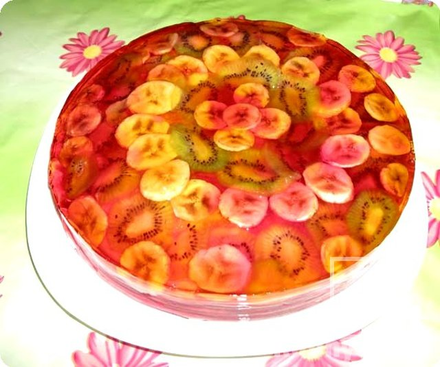 Торты с фруктовым желе рецепты