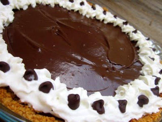 Шоколадный пирог с авокадо